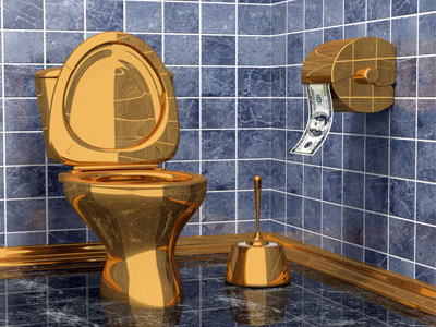 A Lot Of Us Actually Do Want A Solid Gold ToiletEd Vrdolyak   The Electron Pencil. Solid Gold Toilet Seat. Home Design Ideas