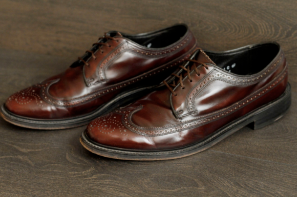 Oxblood Wingtips