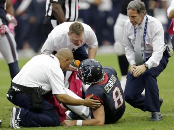 Schaub Injury