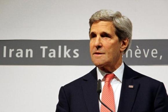 Kerry at Iran Talks