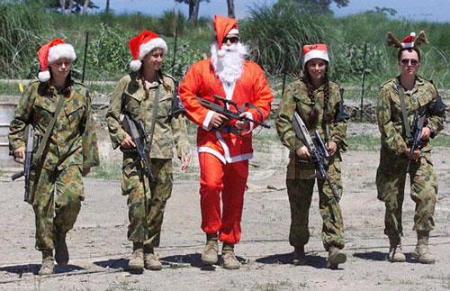 Santa & Guns