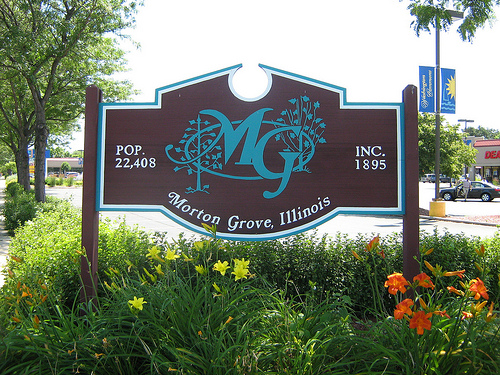 Morton Grove Sign