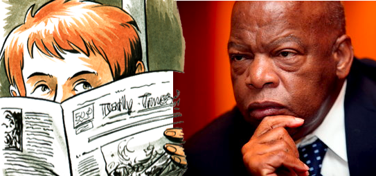Nate Powell Artwork/John Lewis
