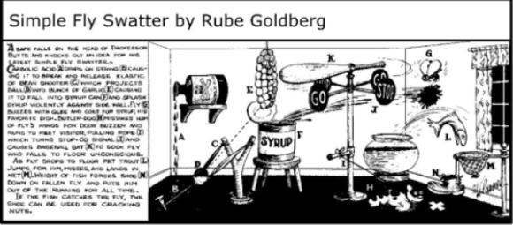 Rube Goldberg Fly Swatter