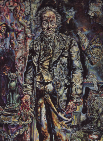 Painting by Ivan Albright