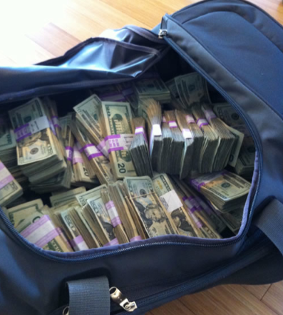 Money in Bag