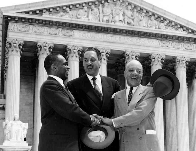 a report on the supreme court case of brown v board of education on the topic of segregation in the  62 years after brown v board of education: why racial segregation is  the supreme court of the  we litigated the brown v board of education case.
