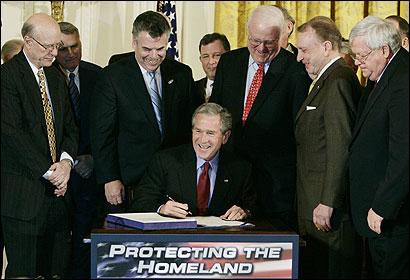 Bush Signing
