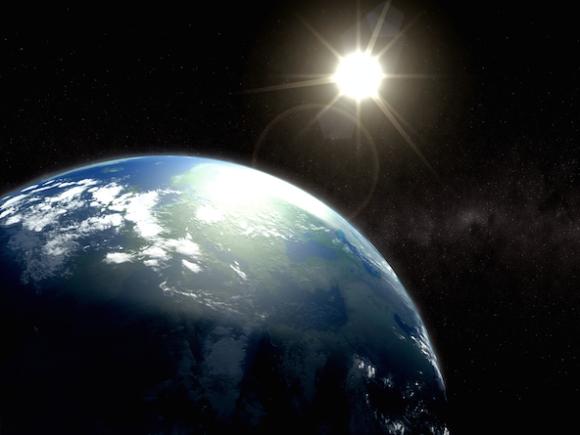 Earth & Sun
