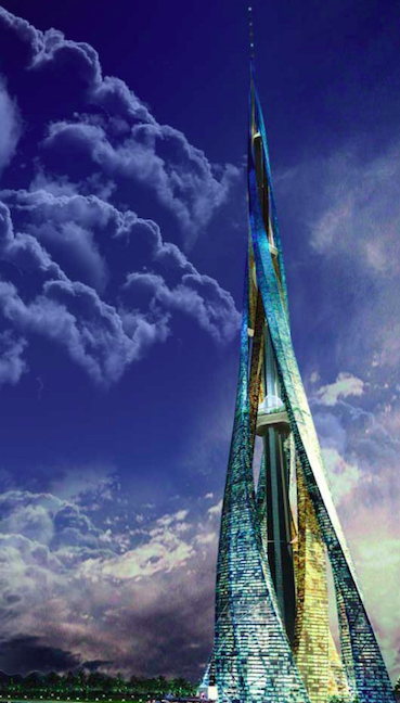 Proposed Dubai Tower